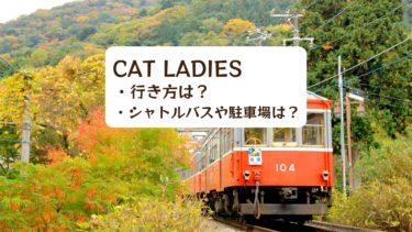 【2019年】CAT LADIESの行き方は?シャトルバスと駐車場は?